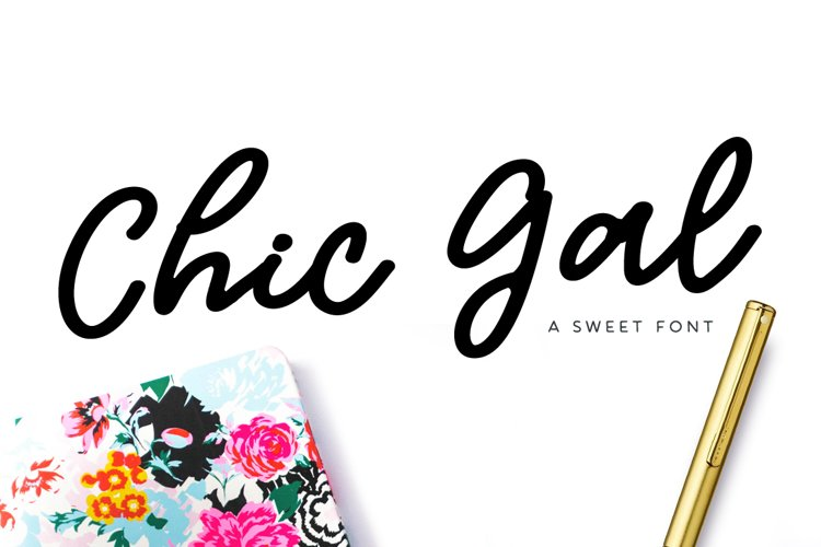 Chic Gal Font example image 1