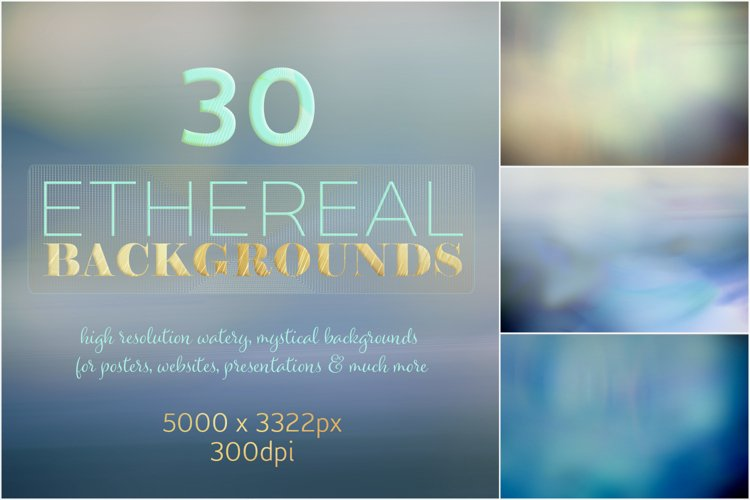 Ethereal Backgrounds