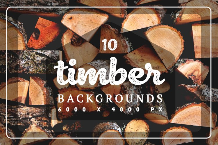 10 Timber Backgrounds example image 1