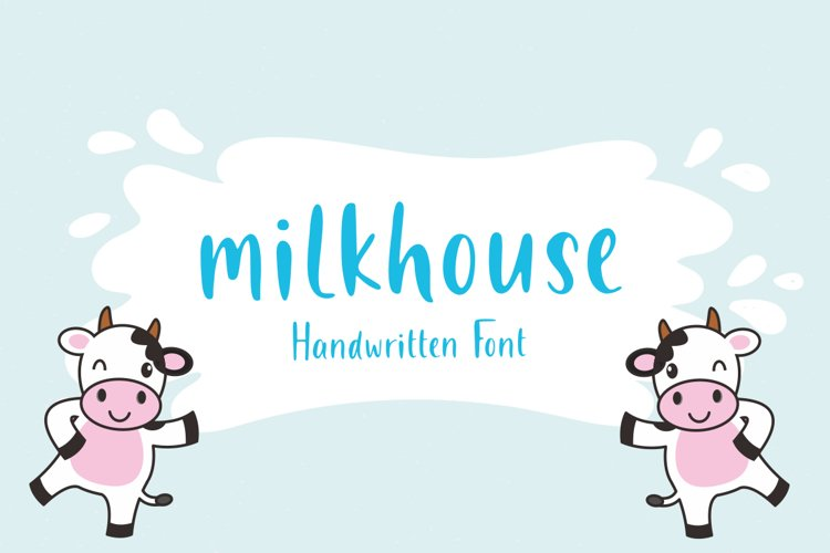 Milkhouse - Handwritten Font example image 1