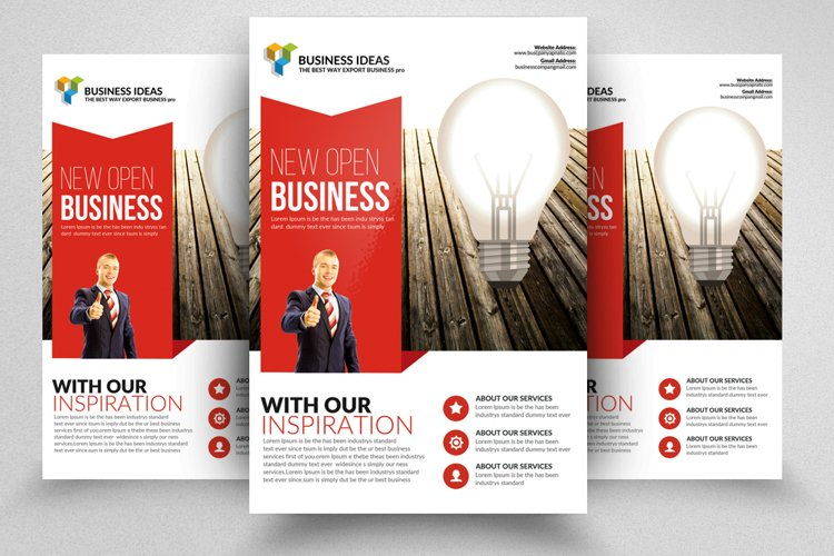 New Idea Business Flyer Templates example image 1