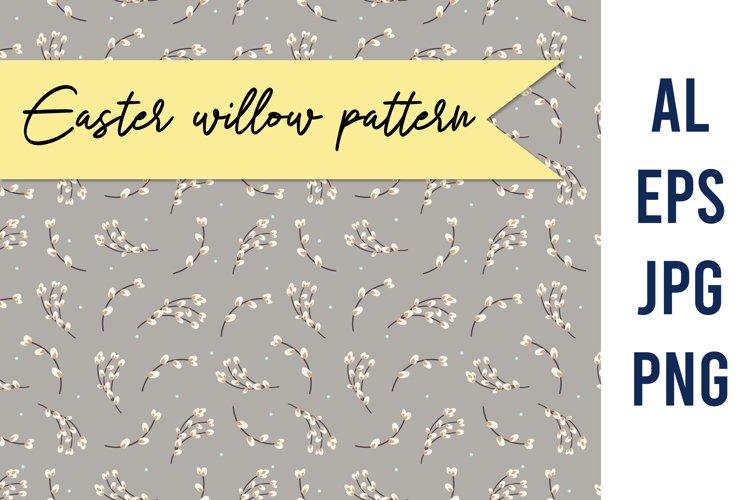 Willow pattern | Spring botanical pattern example image 1