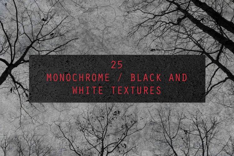 25 Monochrome Black and White Textures