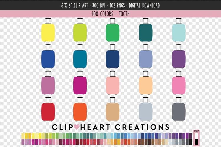 Travel case Clip Art - 100 Clip Art Graphics example image 1