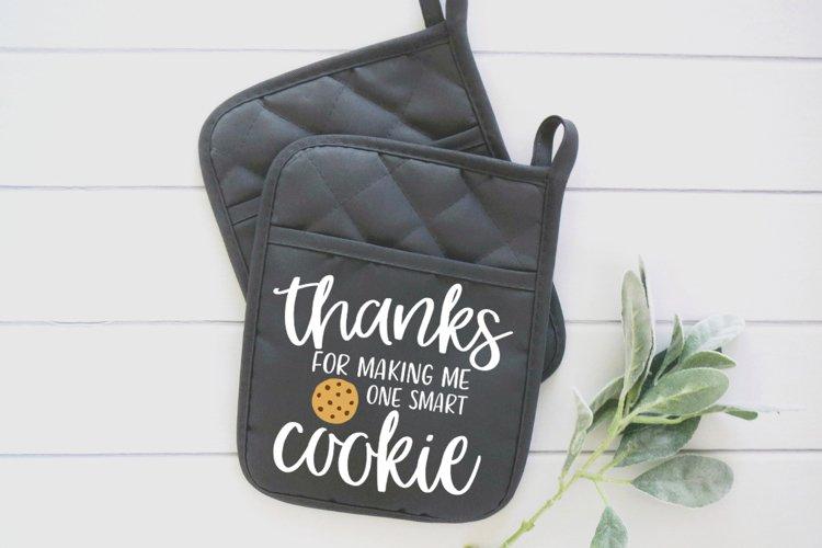 One Smart Cookie svg | Teacher svg | Teacher Gift svg example 1