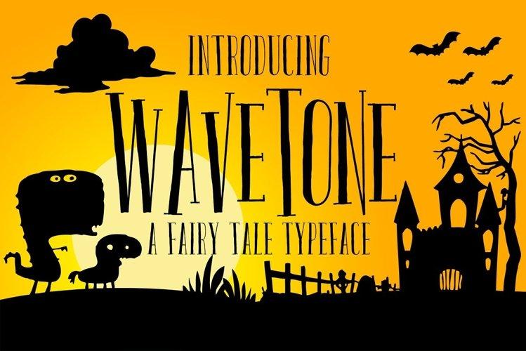Wavetone Typeface example image 1