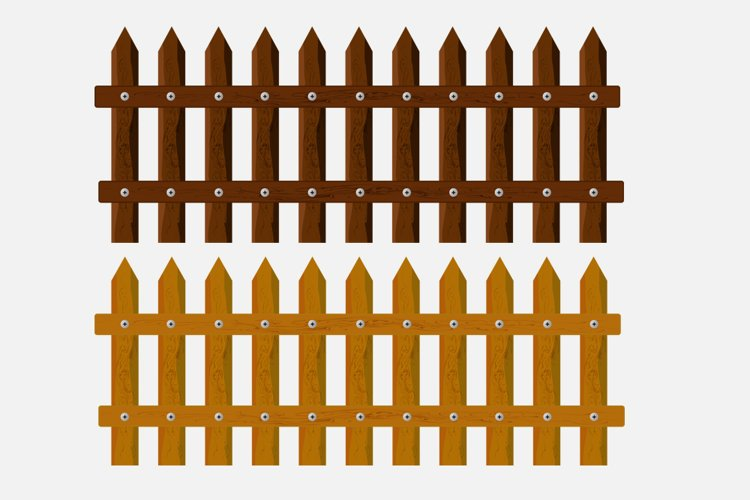 3D Fences PNG Elements