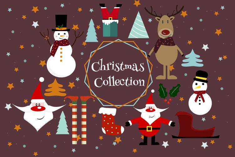 Christmas clipart, Santa clipart,