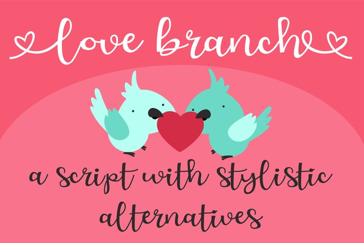 ZP Love Branch example image 1