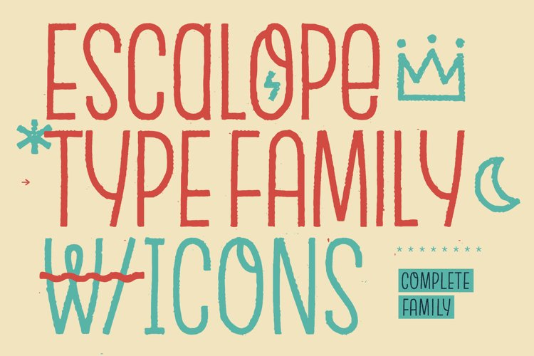 Escalope *Complete Family example image 1