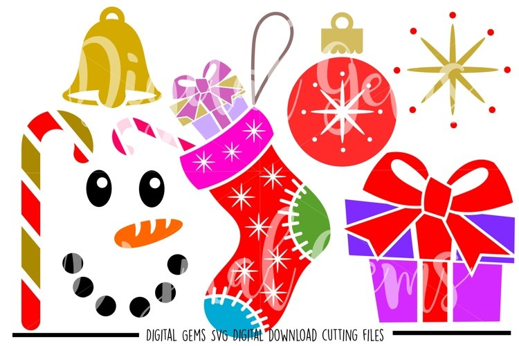 Christmas SVG / PNG / EPS / DXF files example image 1