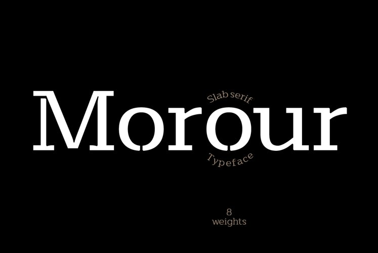 Morour Typeface example image 1