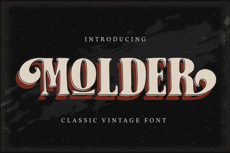 Molder | Classic Vintage Font
