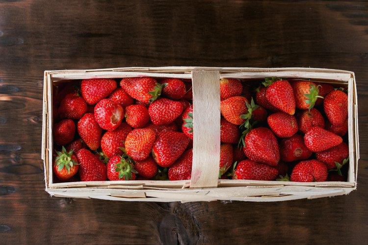 Fresh ripe strawberries example image 1