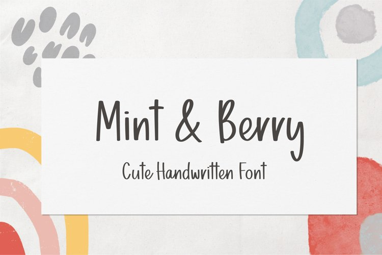 Mint & Berry example image 1