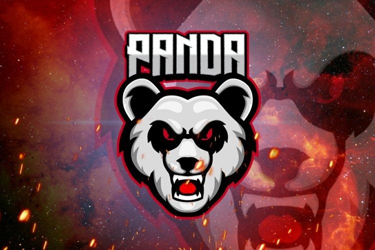 Panda gaming logo example image 1