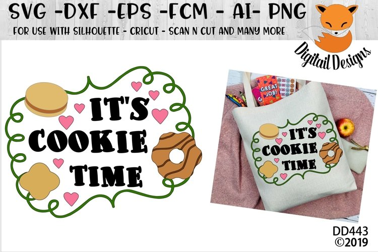 It's Cookie Time CookieSales SVG example image 1