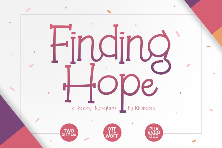Finding Hope example image 1