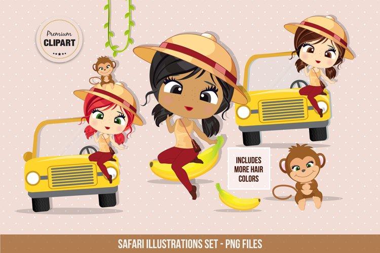 Safari clipart, Travel illustrations example image 1