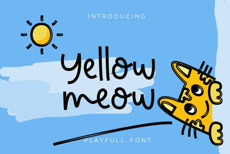 Yellow meow example image 1