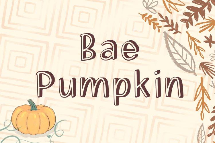Bae Pumpkin