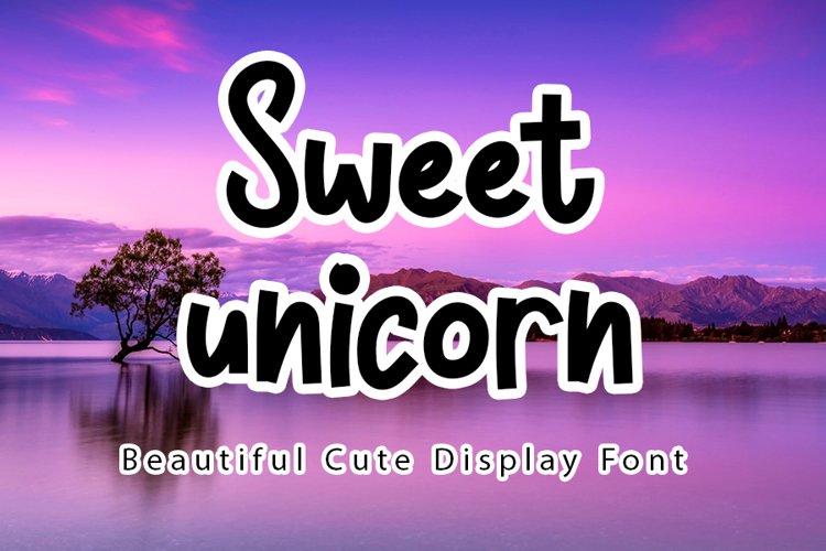 Sweet Unicorn example image 1