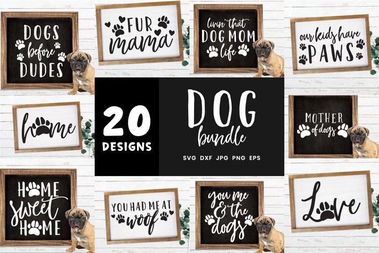 Dog Svg Bundle | Dog Lover Sign Shirt Bundle