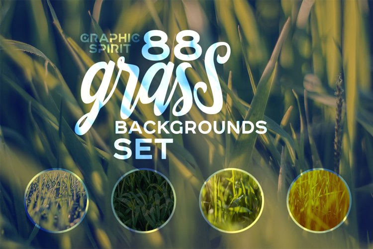 88 HD Grass Backgrounds Set example