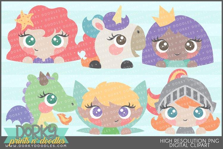 Girly Fantasy Clipart