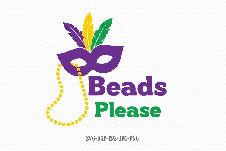 beads please svg , Mardi gras svg