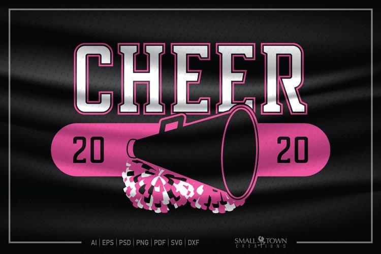 Cheer, Cheerleader, Cheer Squad, Cheerleader SVG, Cheer SVG example image 1