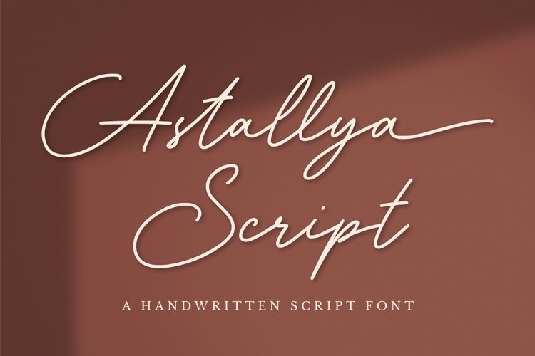 Astallya Script example image 1
