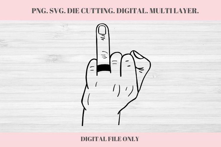 Men Wedding Ringer Finger, Wedding SVG, Ring Finger, Engaged
