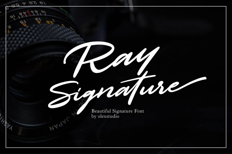 RAY SIGNATURE example image 1