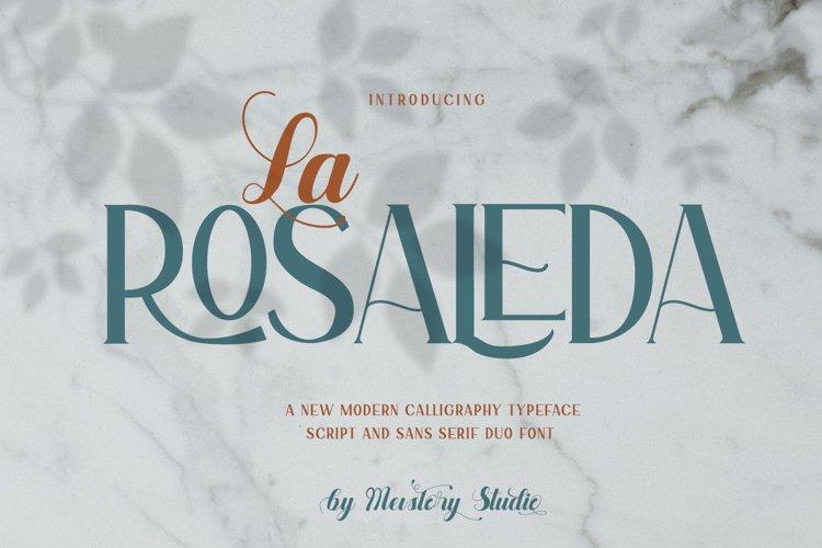 La Rosaleda | Font Duo example image 1