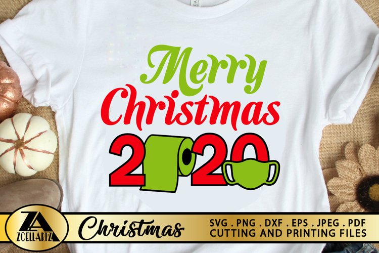2020 Christmas SVG PNG EPS DXF File For Cutting and Printing example image 1