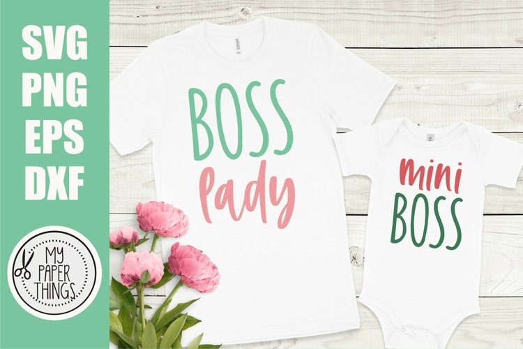 Mommy and me svg Bundle | Mama and mini svg Bundle - Free Design of The Week Design2