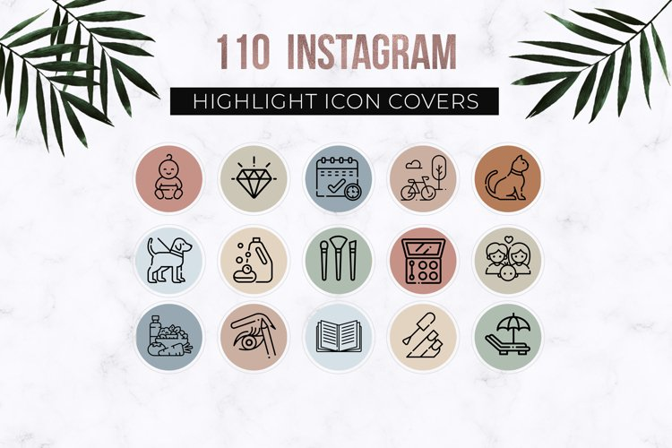 110 Instagram Story Highlight Icons