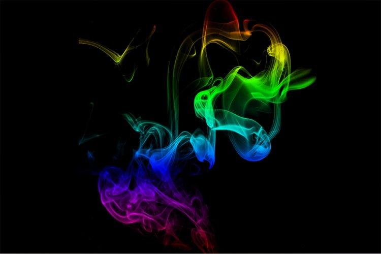 Colorful New Smoke background example image 1