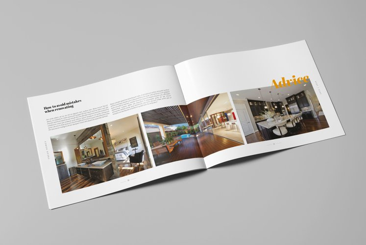 Interior Design Brochure / Catalog example image 1