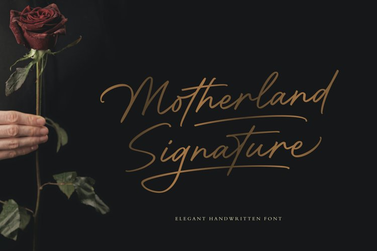 Motherland Signature example image 1