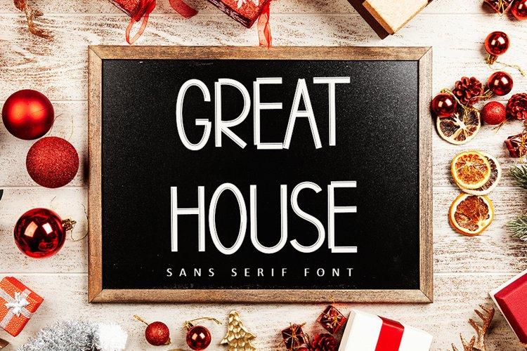 Great House | Clasic Luxury Font example image 1