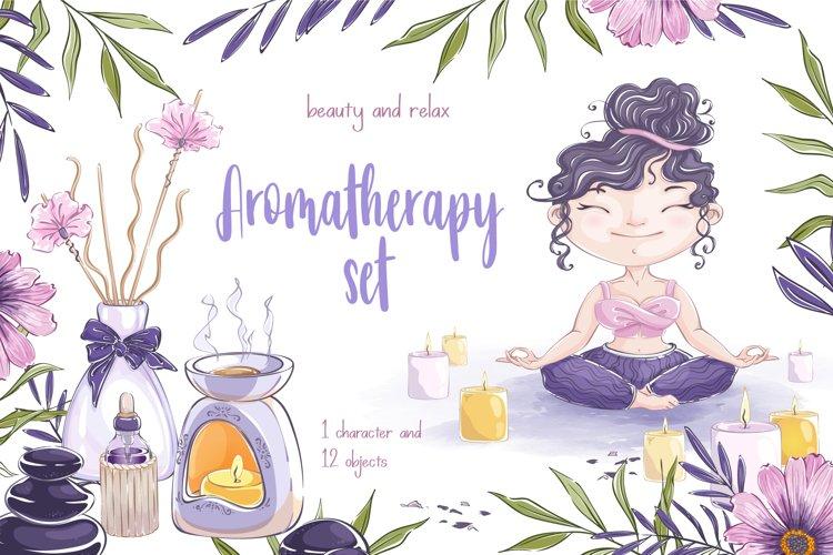 Aromatherapy set example image 1