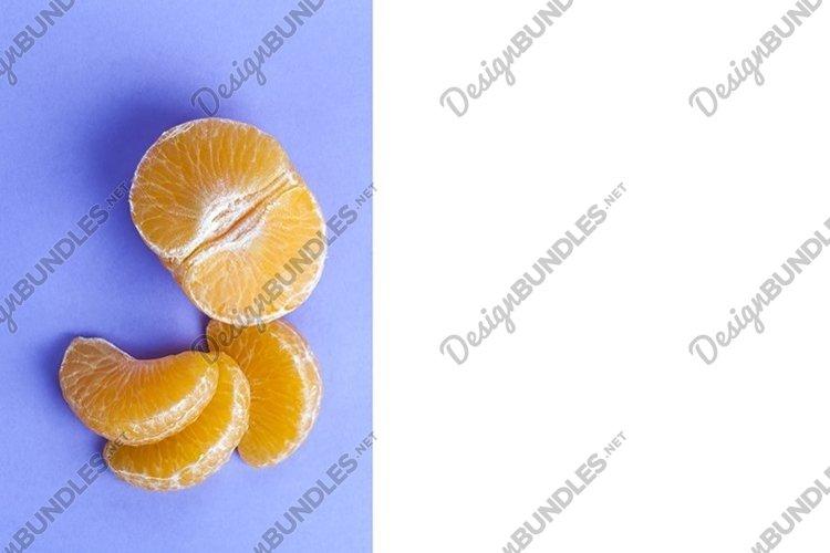 orange on a purple background example image 1
