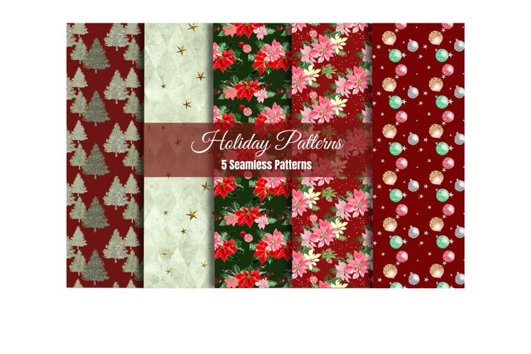 Christmas Digital Pater, Seamless Pattern, Christmas paper