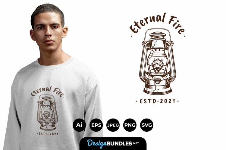 Eternal Fire for T-Shirt Design example image 1