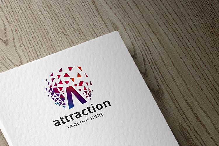 Attraction Letter A Logo