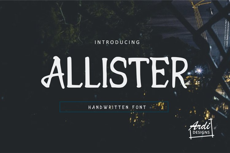 Allister example image 1