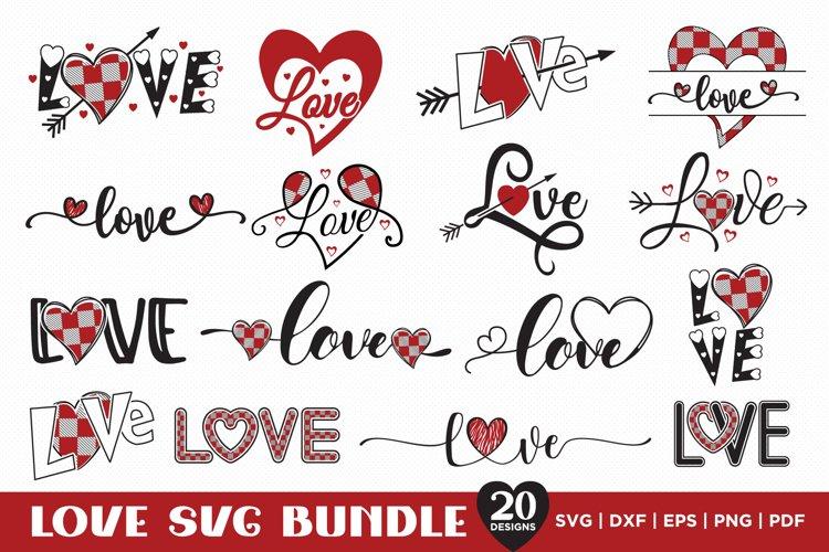 Download Love Svg Bundle Valentines Svg 20 Love Typography Designs 1098251 Cut Files Design Bundles
