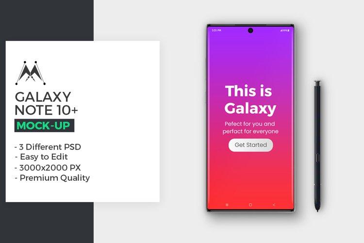 Galaxy Note 10 Mockup example image 1